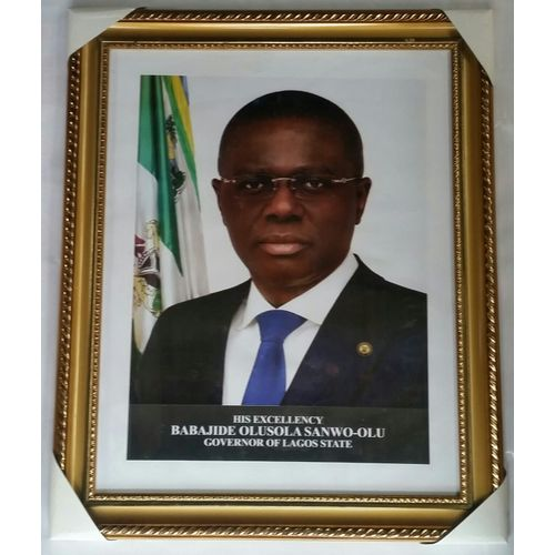 Lagos State Governor Office Portrait