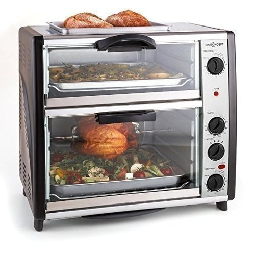 Electric Toaster Oven With Top Grill- 42Litres