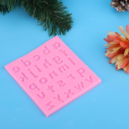 Household DIY Alphabet Letters Cake Baking Mold Silicone Fondant Mould Tools Kitchen Gadgets