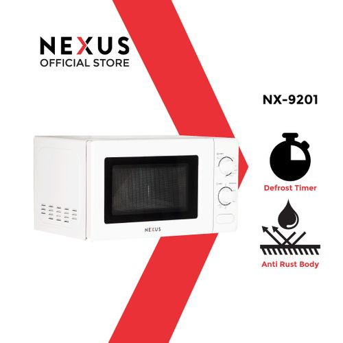 20-Litre Microwave With Grill NX-9201 - White