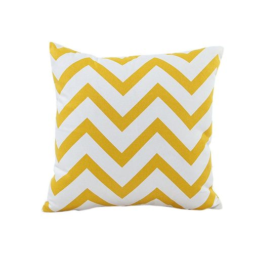 Home Car Bed Sofa Decorative Wavy Patterns Pillow Case Cushion Cover YE