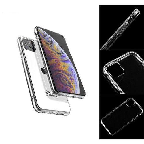 Iphone11,11 Pro, 11 Pro MAX Mobile Phone Case Transparent Tpu Anti-fall Cover