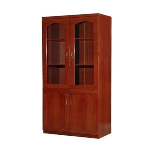 2D Wooden Office Bookshelf (Delivery In Lagos Only)