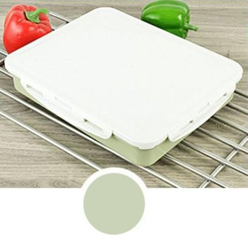 High-capacity Stainless Steel Thermo Bento Lunch Boxs Japanese Food Box Insulated Lunchbox Thermal School Food Container# Green Five