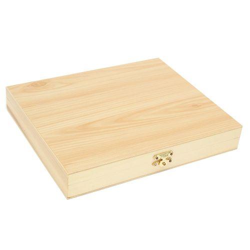10pcs 100 Slots Natural Wooden Microscope Slides Box Microscope Storage Holder Case