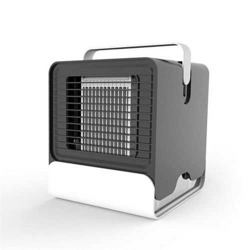Portable Mini Air Conditioner Cool Cooling Fan LED