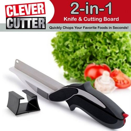 Clever Cutter 2 In 1 Vegetable Cutter