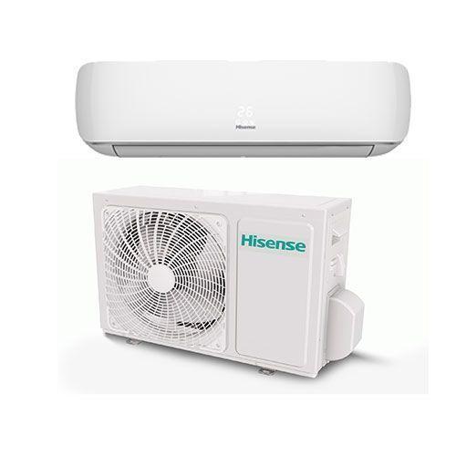1HP Split Unit AC ( Copper Condenser) - White with Free AC Wall Bracket