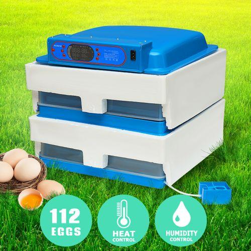 112 Digital Egg Incubator Hatcher Temperature Control Automatic Turning