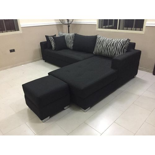 6 Seated L Shape And Ottoman(lagos Only