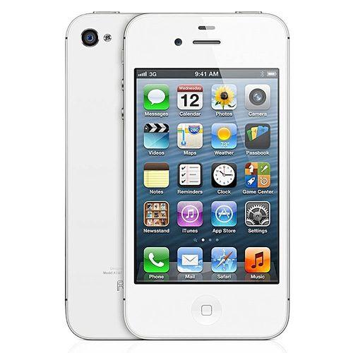 IPhone 4 - 8G, White (Refurbished) 3.5 - Inch Screen