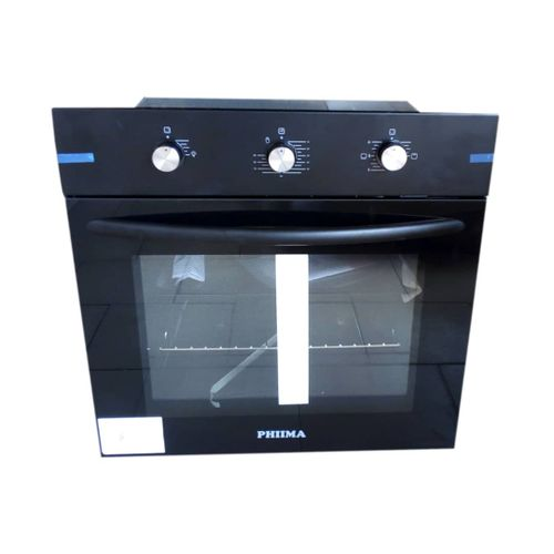 60cm Phiima Electric And Gas Oven (BLACK)