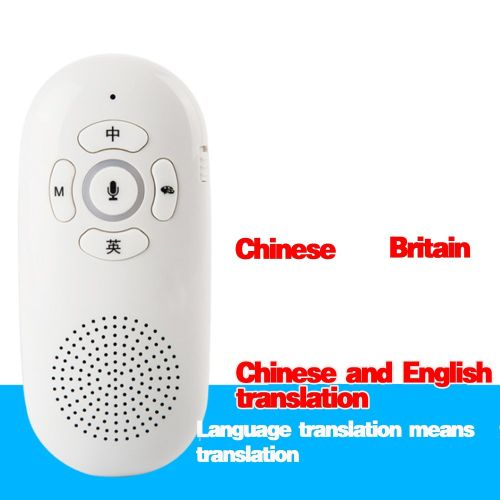 Chinese English Real Time Translation Smart Translator Support WeChat Play White