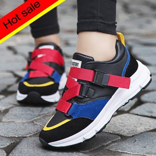 New Woman Fashion Casual Shoes Woman Comfortable Breathable Flats Female Sneakers Buckle Vulcanized Shoes Woman Shoes