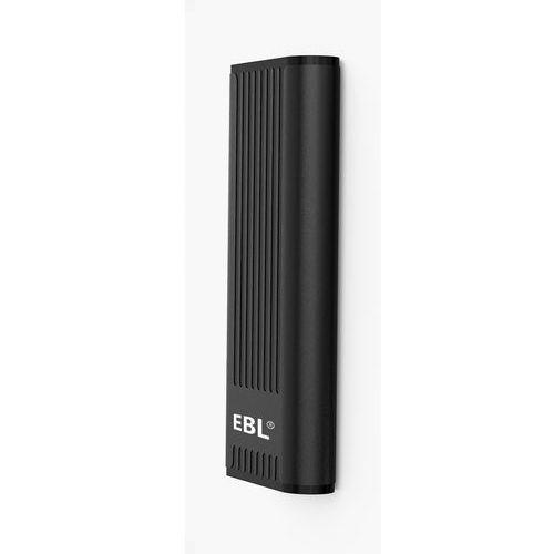 EBL H15 12,000mAh Portable Power Bank With Dual Port - Black