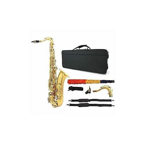 Tenor Saxophone With Accessories -Gold