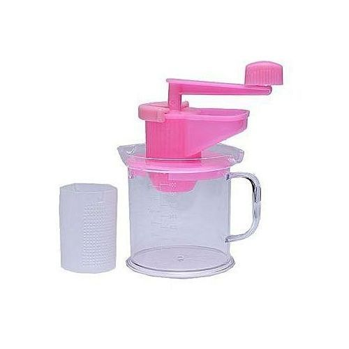 Multifunctional Manual Beans And Soybean Grinder - Pink