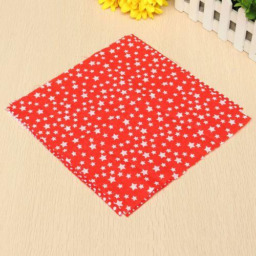 7PCS Assorted Floral DIY Craft Pre Cut Charm 25cm*25cm Quilt Cotton Fabric