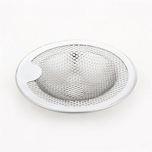 Fohting Kitchen Water Sink Strainer Cover Floor Drain Plug Bath Catcher Drain Plug -Silver
