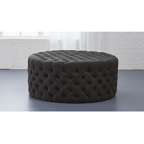 Fabric Tuffed Ottoman Large (DELIVERY ONLY IN LAGOS)