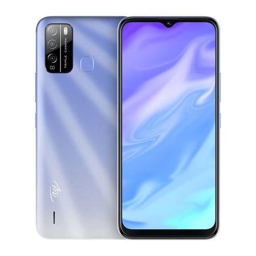 "S16 6.5"" FullScreen, 16GB ROM + 1GB RAM, Android 10, 4000mAh, 8MP Triple Rear Camera, & Fingerprint - Ice Crystal Blue"