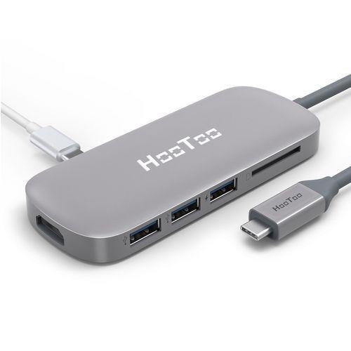 USB-C / Type-C Charging Port & SD Card Slot & HDMI Output(Grey)