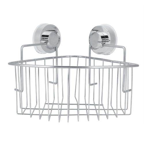 Corner Basket Stainless Steel With Strong Suction Basket Shower Caddy Storage Shelf Stand Holder Free Punch