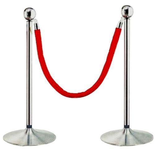Queue Control Barrier Poles And Ropes -