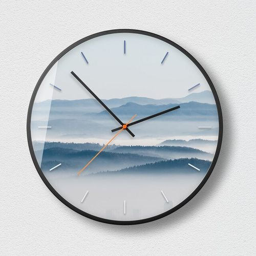 Mist Forest Bedroom Living Room Wall Watch