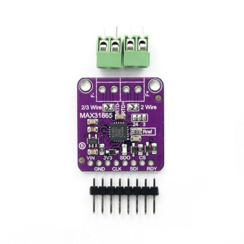 Max31865 Rtd Temperature Thermocouple Sensor Amplifier Module For Arduino Purple