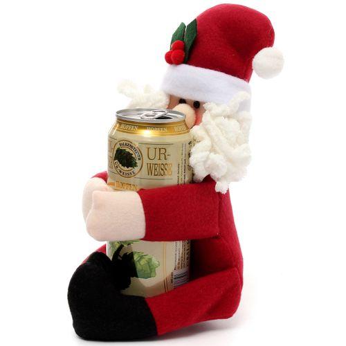 2Pcs/Set Xmas Snowman Santa Christmas Supplier Drinks Holder Ornament