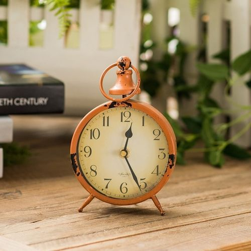 Decoration Electronic Clock Ornaments Vintage Table Clock