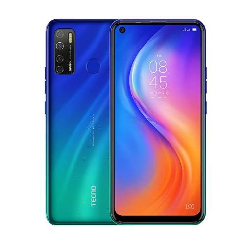 """Spark 5 PRO (KD7) 6.6"""" HD+ 3GB RAM + 64GB ROM, , Android 10, 4G, 5000mAh,Seabed Blue"""
