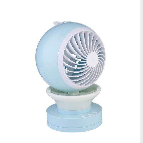 Portable Rechargeable LED Night Light Fan Air Cooler Mini Desk USB Fan Office Special Humidifier