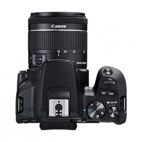 Eos 250d Camera 18-55mm Lens, 24.1mp, 3 Inch Lcd, 4k, Wifi