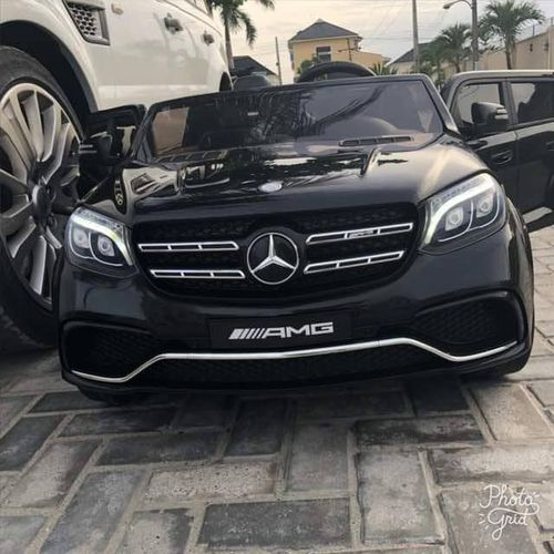 Mercedes Benz GL63 Double Seat Ride On - Black