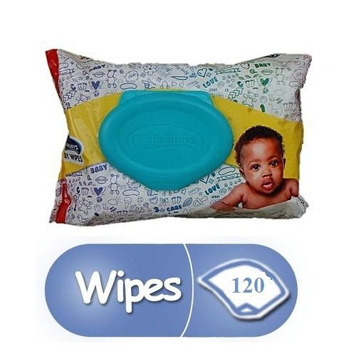 Baby Wipes - 120 Count