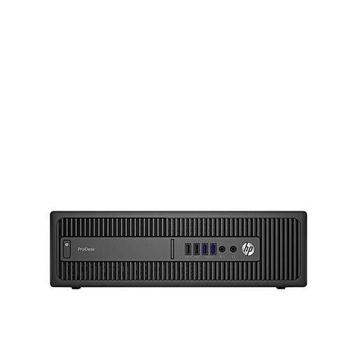 ProDesk 600 G2 Small Form Factor Business PC ( X8D10UP) – 6th Gen. Intel Core I7, 8GB RAM, 500GB HDD, DVDRW, Windows 10 Pro - Black