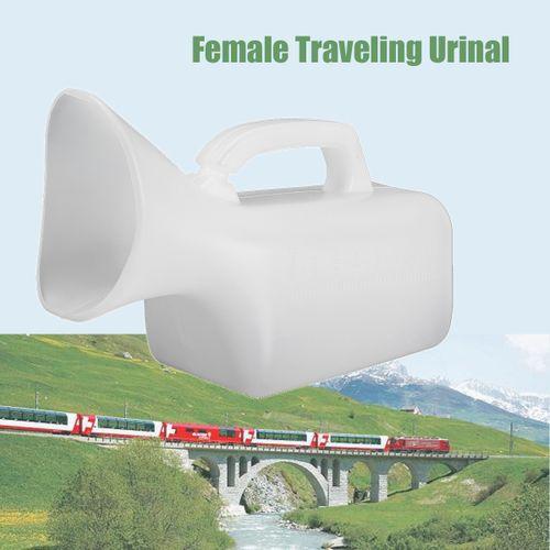 800ML Female Urine Bottle Plastic Portable Urinal Camping Travel Car Toilet