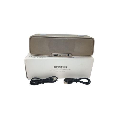 S2025 Portable Wireless Bluetooth Speaker - Gold
