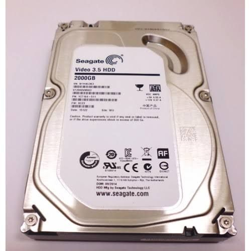 2TB Desktop Harddrive Video 3.5