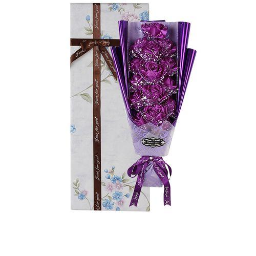 Rose Artificail Flower Eternal Love Gift - Pink