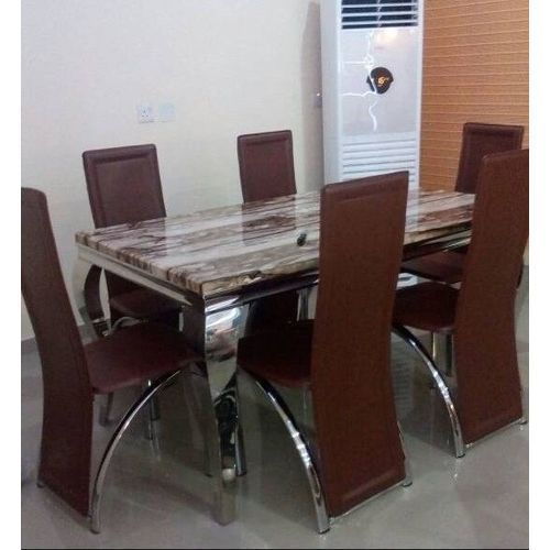 Dining Table With 6 Sitting Chairs (PREPAID ORDERS ONLY)