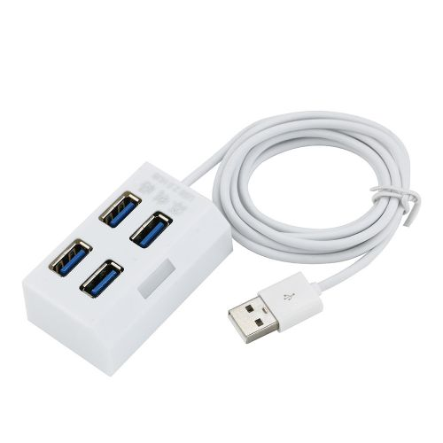 The Trapezoidal High Speed 4 Port USB 3.0 Hub For PC Computer Accessories Artificical