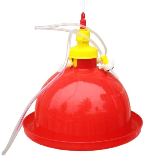 Thick Chicken Duck Goose Type Automatic Water Drinker Backyard Poultry Supply