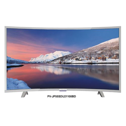 Polystar 55inches Smart Curved Led TV