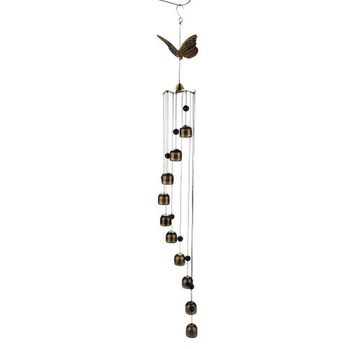 1pc Metal Hanging Wind Chime Bell Beautiful Craft Ornament Indoor Wind Chimes Wall Hanging Home Decor