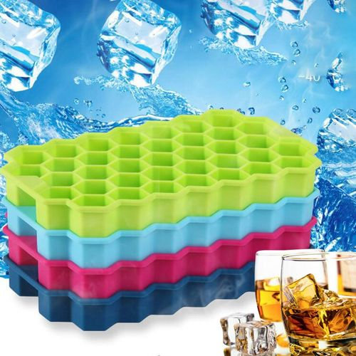 Mould DIY Silicone Ice Cube Tray Maker Mold Freezer Kitchen Supply Tool