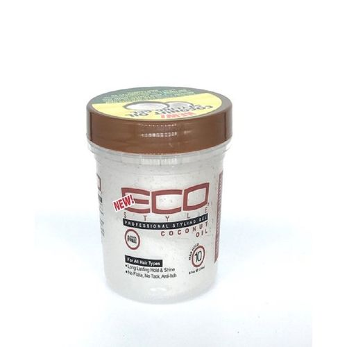 Coconut Oil Professional Styling Gel Maximum Hold Alcohol-Free 12oz.