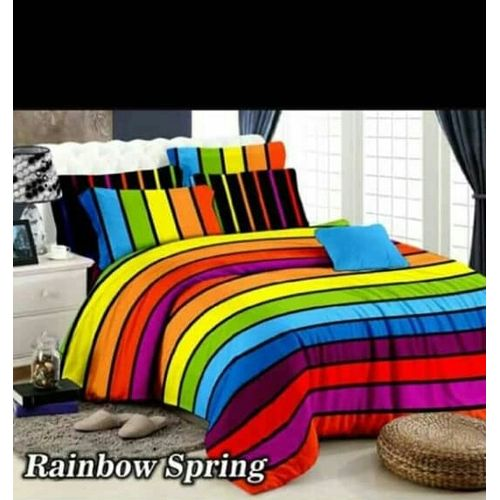 Multi-color Bedsheet.
